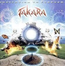 "Takara ""Invitation to Forever"" CD Jeff Scott Soto Melodic Hard Rock"