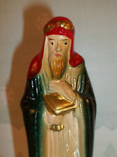 Vintage Nativity Figure Standing WISE MAN Made in TAIWAN DECO Style C520