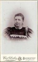 CDV Foto Damenportrait - Barmstedt um 1900