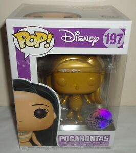 Funko Pop Disney Pocahontas figure 197 Special Edition