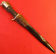 Ww ll German Dress Bayonet With Scabbard and Frog.Made By Hertra-Qualitat.