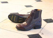 Shires Moretta Adults Raffaele Lace Paddock Boot, Black or Brown