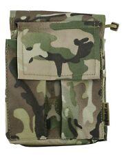NEW - Kombat Multicam MTP Nylon Cordura Zipped A6 Notebook Cover / Organiser