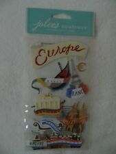 Jolee's Boutique 8 pc dimensional stickers - EUROPE