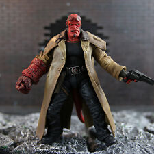 "Hellboy Mezco HB 7"" Action Figure Smoking Ver. Series 2 Collection Loose in Box"
