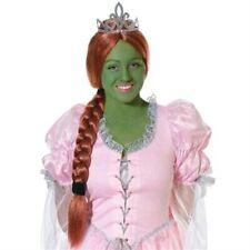 Princess Fiona Shrek Style Wig With Tiara (Auburn)