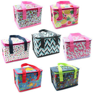 Children Kids Adults Lunch Bags Insulated Cool Bag Picnic Bag School Lunch Box