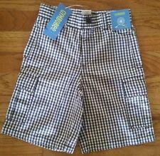 NEW Gymboree Brown & White Cargo Shorts  Boys Size 4