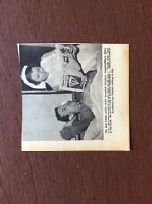 B2c Ephemera 1940s Ww2 Picture Major Miles Lowe First Wounded Soldier