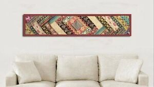 """33% OFF 60"""" COPPER STUNNING BEAD SARI SEQUIN WALL DÉCOR HANGING TAPESTRY RUNNER"""