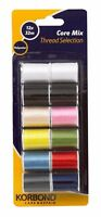 Korbond core mix polyester thread selection 12 x 32m ref 5407 110781