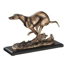 Greyhound Dog Whippet Bronze Statue Sculpture Art Home Deco Pet Lover Gift