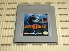 Mortal Kombat II 2 pour Game Boy Et Color et Advance