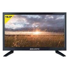 TV 19,5'' MAJESTIC 12V/220V PORTATILE X CASA AUTO CAMPER HDMI HD VGA CAM USB SAT