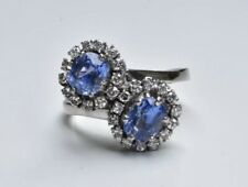 Sapphire and Diamond ring 18ct