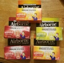 5 AIRBORNE ORIGINAL LEMON-LIME, Berry, Orange 10 EFFERVESCENT TAB EA EXP 9/19