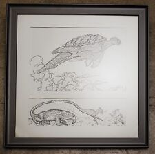 Geof Darrow Original Art!! OOAK pencil and ink signed and framed GREAT CONDITION Comic Art
