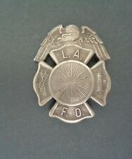Antique Obsolete Lafd Los Angeles Fire Department Fireman's Badge