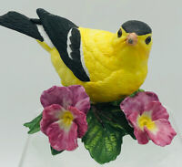 Collectible Lenox American Goldfinch Fine Porcelain Bird Figurine, 1987
