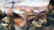 Grand Canyon of the Colorado River by Thomas Moran 75cm x 42.2cm Canvas Print