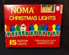Vintage Noma Indoor Christmas Lights NEW Original Box Candelabra Base