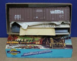 Athearn HO NMRA 50th WEST Western Ry System 50' Boxcar Kit NIB '85  Private Car
