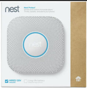 Google Nest S3003LWES Wired Smoke & Carbon Monoxide Detector ***New & Sealed***