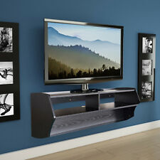 TV Stand Console Floating Wall Mount Shelf Media Center  Storage DVD Flat Screen