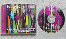 CD AUDIO DISQUE INT/ NIGHT CLUBBERS A SELECTION OF HOUSE AND GARAGE VARIOUS 96
