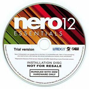 Nero 12 Essentials OEM, CD im PaperCase