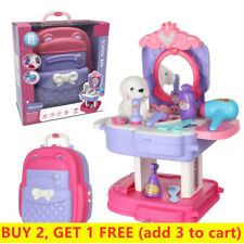 Pretend Play Tools Sets for Kids Role-Play Toy 2 in 1 Simulation Props Girl Boy