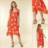Wallis Dress Size 16 | Coral Daisy Print | BNWT | £45 RRP | Brand New!