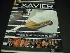 Xavier will Work That Sucker To Death at Point Of Pleasure 1982 Promo Poster Ad