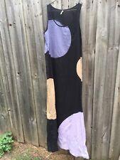 Gorman Organic Size 8 Maxi Dress Colour Block 100% Cotton As New