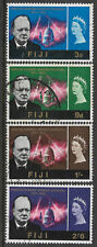 FIJI 1966 SIR WINSTON CHURCHILL Set 4v FINE USED