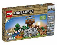 BRAND NEW SEALED Lego Minecraft the Crafting Box 2.0 21135 Building Kit (717 Pc)