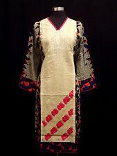 Pakistani Designer Kurta Stitched Indian Kurti Women Embroidered Tunic Top