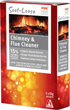 Soot Loose Soot-Loose Chimney Flue Fireplace Cleaner Organic Solvent 150g