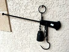 (n° 8 ) old tool / outil ancien, peson  / balance / chasse / poids