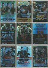 "UFC Round 4 2010 - ""Fight Poster Review"" Set of 25 Chase Cards"