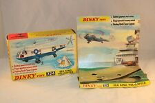 Dinky Toys 724 Sea King Helicopter empty complete box with display & leaflat