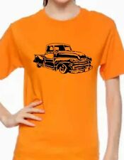 Classic 40'- 50' GMC - Chevy  pickup custom t-shirt graphic tee