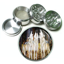 Wolf Aluminum Grinder D5 63mm 4 Piece Wilderness Animal Dog Hunter Predator