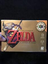 Rare vintage Sealed Legend Of Zelda Ocarina Of Time