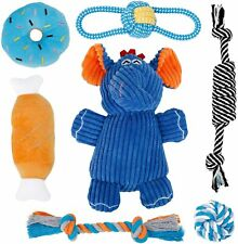 New listing Toozey Puppy Toys for Teething Small Dogs, 7 Pack Small Dog Toys, Cute Elephant