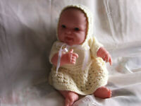 """ELLIE"" IS A VERY CUTE BERENGUER  13"" VINYL BABY DOLL"