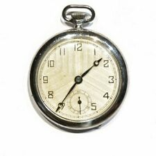 modern chrome Pocket watch