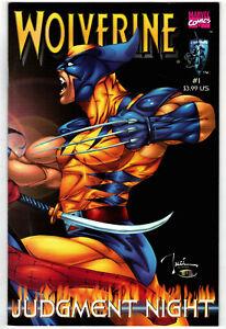 WOLVERINE Judgment Night # 1 - 2000 (fn-vf) Marvel/Crusade  Shi (A)