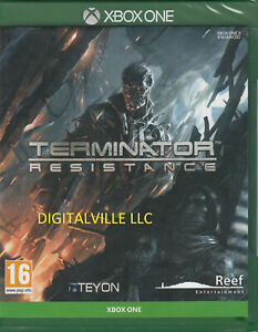 Terminator Resistance Xbox One Brand New Factory Sealed