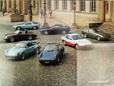 Diversità-Prospetto/poster BROCHURE PORSCHE 911 Turbo SC S 924 928-ca 1980